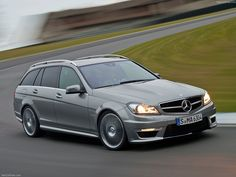 Mercedes C63 AMG Estate ... My favorite. Hope to own one, one day.