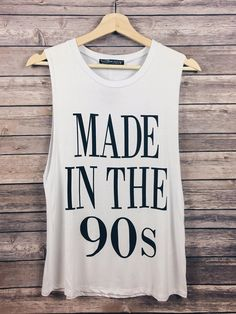 Made In The 90s Tank (White)