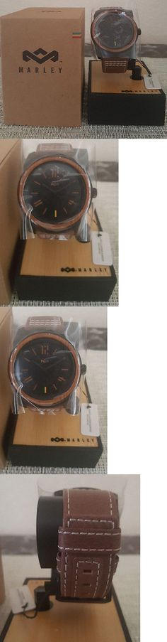 Other Mens Jewelry 177770: House Of Marley Mens Fashion Eco Friendly Leather Watch BUY IT NOW ONLY: $145.99