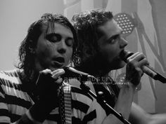 Gerard and Frank. My Chemical Romance. Frerard