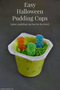 Halloween Pudding Cups Snack Bar with Snack Pack #SnackPackMixins #shop