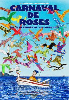 Arriba el Carnaval de Roses!! Disfresses a punt? Ganes de divertir-se? Que comenci la disbauixa! #CarnavalRoses2014 #aRoses #inCostaBrava