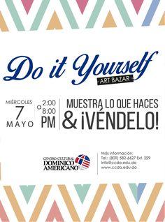 Portada de facebook para los participantes del do it yourself art diseo para el art bazar del centro cultural dominico americano do it yourself solutioingenieria Gallery