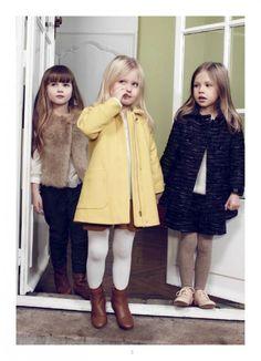 Parisian style kidswear from Chloe girls fashion