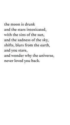38 Ideas for quotes deep thoughts universe Poem Quotes, Words Quotes, Wise Words, Life Quotes, Sayings, Beautiful Poetry, Beautiful Words, Deep Poetry Love, Beautiful Things