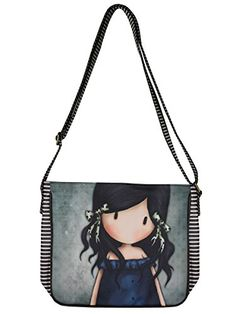 You Brought Me Love - Cross Body Satchel Bag by Gor-juss