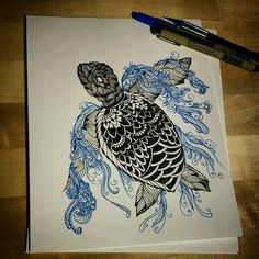 50 Ideas Drawing Ink Sketches Illustrations For 2019 Zantangle Art, Pen Art, Maori Tattoo Frau, Paar Tattoo, Zealand Tattoo, Arte Tribal, Zentangle Patterns, Zentangles, Future Tattoos