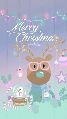 Merry Christmas - phone wallpaper w/pink Christmas Post, Merry Christmas And Happy New Year, Christmas Pictures, Winter Christmas, Christmas Ideas, Christmas Inspiration, Christmas Quotes, Christmas Articles, Christmas Cards