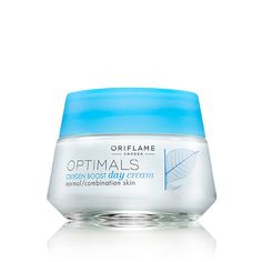 Optimals Oxygen Boost Day Cream Normal/Combination Skin - Optimals Oxygen Boost normal/combination skin - Skin Care - Shop for Oriflame Sweden - Oriflame cosmetics –UK & ROI - Oriflame Optimals Oxygen Boost Day Cream Normal/Combination Skin