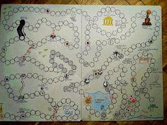 gra planszowa dla dziecka DIY - Szukaj w Google
