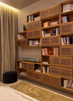 Quarto do Casal Moderno. Projeto Gisele Taranto para mostra Quartos Etc. RJ 2015