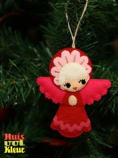 huisvolkleur: Kerst engeltje