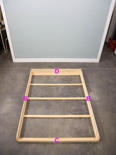Build a hideaway bed for a studio apartment or guest bedroom.
