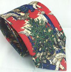 """Robert Talbott Best of Class Silk Necktie Tie Victorian Christmas Tree 57.5""""  #RobertTalbottBestofClass #NeckTie"""