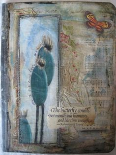 Altered Composition books: