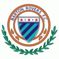 Barton Rovers FC Logo. Get this logo in Vector format from https://logovectors.net/barton-rovers-fc/
