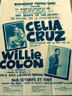 Celia Cruz y Willie colon