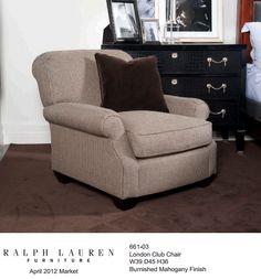 Fabulous...Ralph Lauren Brook Street Collection...www.PacificHeightsPlace.com