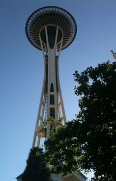 Space Needle Seattle Washington.. This was my first vacation with the hubby.. We loved it