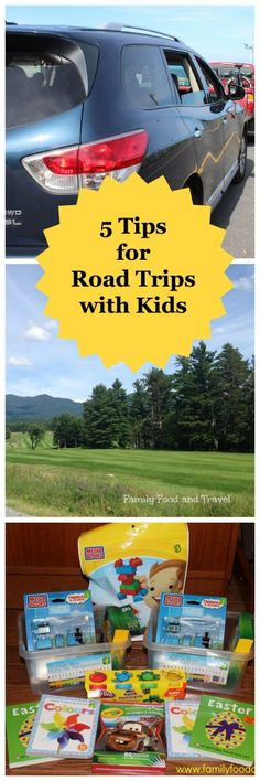 5 tips for Road Trips with Kids - Family Food And Travel