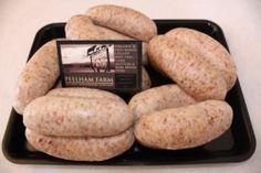 Organic Breakfast sausages