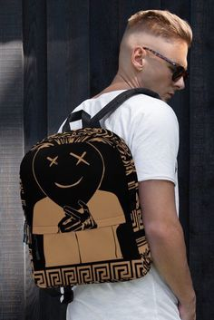 Excited to share this item from my shop: Streetwear fashion Backpack ( for the lovers of supre Fendi, Gucci, Givenchy, Balenciaga, Korean Streetwear, Streetwear Brands, Streetwear Fashion, Streetwear Summer, Fashion Moda