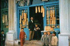 "farsizaban: "" Bakery in Babolsar, Iran (1960's) """