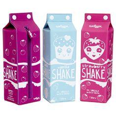 Milk Carton Shakes Pencil Case | Smiggle UK