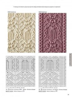 Knitted Mittens Pattern, Cable Knitting Patterns, Crochet Motif Patterns, Knitting Stiches, Arm Knitting, Knitting Charts, Craft Patterns, Stitch Patterns, Filet Crochet