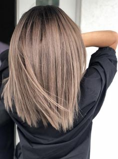 Luv this color! - #Balayagecheveuxbruns #Cheveux #Cheveuxombrés #Coiffurecheveuxmilong #color #Colorationcheveux #Couleurcheveuxtendance #Coupecheveuxmilong #Luv