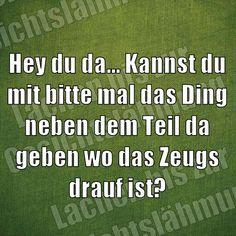 Wer kennt DAS nicht! :-)