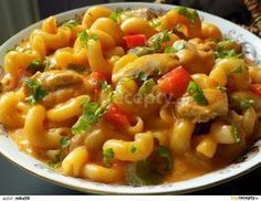 Pasta Recipes, Chicken Recipes, Dinner Recipes, What To Cook, Food 52, Food Design, Macaroni And Cheese, Curry, Vegetarian