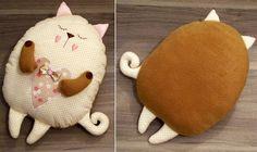 Làm gối ôm mèo béo xinh xinh cho bé