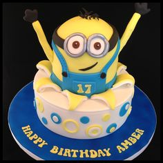 Birthday Cakes - Despicable Me Cake