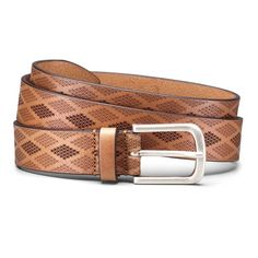 Men s allen edmonds bryant avenue leather belt size curele din