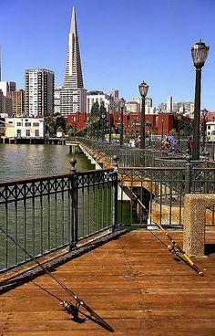 San Francisco  Transamerica Building from Pier 7