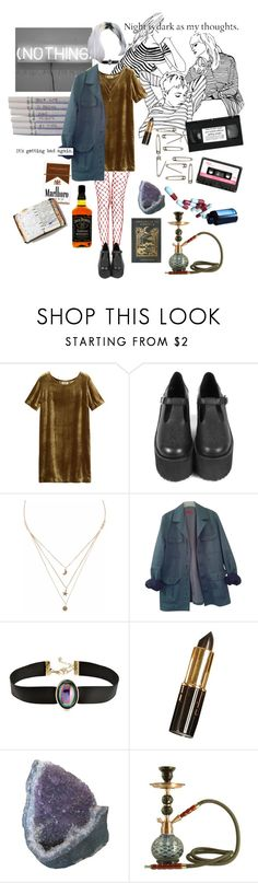 """self-destruction"" by coffee-and-jazz ❤ liked on Polyvore featuring Toast, Chanel, Liz Law, HUGO, ASOS, Peek and vintage"