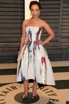 Vanity Fair After Party best dressed: Ruth Nega in Oscar de la Renta