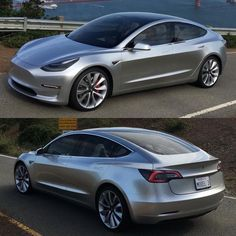 Isn't it just #Gorgeous? - http://Tesla.com  #TeslaModel3 #M3 #TheNewM3 #Tesla3 #Model3 #Modeliii #teslamotors #ElectricCAR #ElectricVehicle #ElBIL #ElectricVehicles #ElectricCARs #AmericanMuscle #AmericanMuscleCar #UBUYGAS #EVFRISBEE PLEASE DONT BE AN #EVHOLE by ubuygas