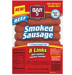 $1.00 off Bar-S Smoked Sausage Package Coupon on http://hunt4freebies.com/coupons