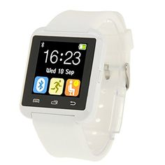 Generic U80 Bluetooth Health Smart Watch 1.5 inch LCD Screen for Android Mobile Phone, Support Phone Call / Music / Pedometer / Sleep Monitor / Anti-lost(White) *** Check out the image by visiting the link. (This is an affiliate link) #SmartWatches