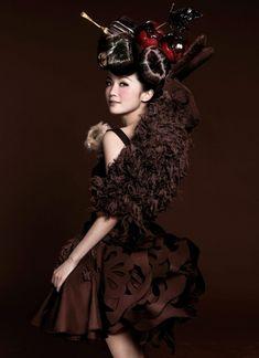 Dress by Erika Mizuno