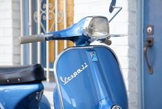 Over the weekend I got the chance to photograph a pair of beautiful vintage Vespa's . Lambretta Scooter, Vespa Scooters, Vespa 50 Special, Vespa Super, Motorbikes, Motorcycle, Photography, Blue, Vintage Vespa