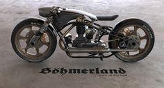 Bohmerland motorbike, Spirit of the Wolf Motorbikes, Wolf, Spirit, Motorcycle, Vehicles, Wolves, Biking, A Wolf, Biking