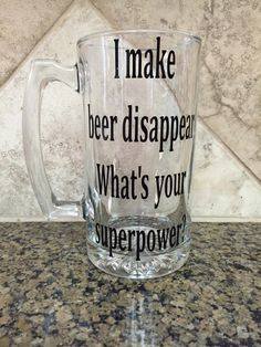 A personal favorite from my Etsy shop https://www.etsy.com/listing/246621441/beer-mug-beer-glass-custom-beer-mug