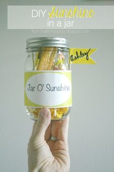How sweet is this? Such a fun gift idea for a friend who needs a little cheering, or a fun party favor!