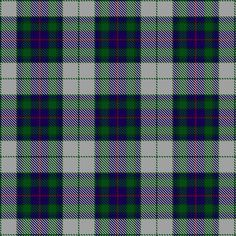 Tartan image: Fraser Gathering Dress (1997). Click on this image to see a more detailed version.