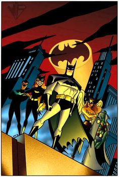 Well, this would have been interesting to see: The New Batman Adventures & Justice League crossover!