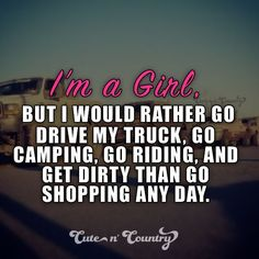 True that. Unless its shopping for boots, truckparts, guns, etc