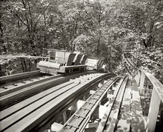 Vertigo - Glenn Echo, Maryland 1916 | Community Post: 17 Vintage Thrill Rides Of Questionable Safety